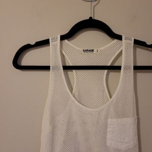 4/$25 Garage netted tank top